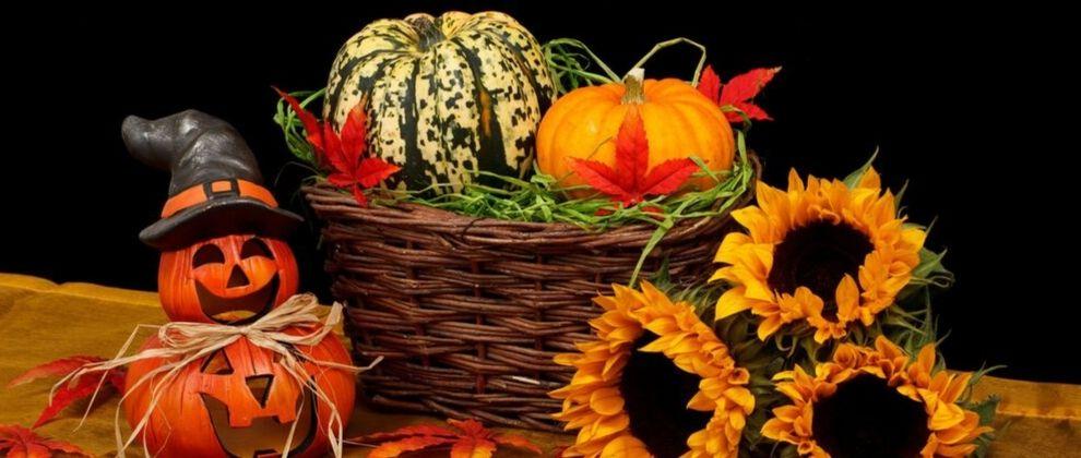 Halloween ali noč čarovnic je priljubljen jesenski praznik.
